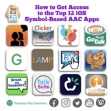 How to Get Access to the Top 10 iOS Symbol-Based AAC Apps