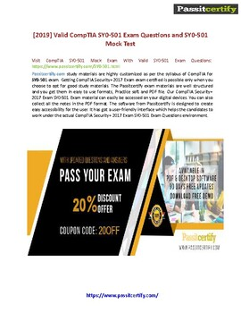 How to Get CompTIA SY0-501 Test Simulator for Exam Dumps?
