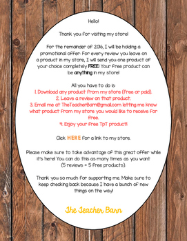 How to Get My Products for FREE!