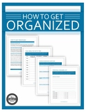 How to Get Organized Worksheets for Students