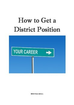 Career Tips to Getting a School Resource Teacher and/or District Position