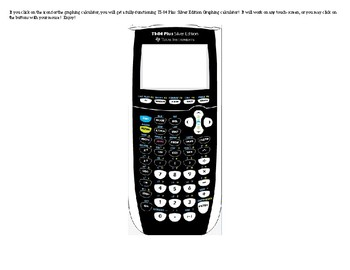 How to get to a free online ti 84 plus silver edition calculator.