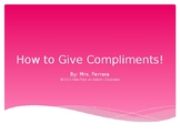 How to Give a Compliment Social Story
