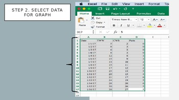 How to Graph Student Data in Excel