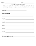 How to Graphic Organizer
