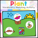 How to Grow A Plant Vocabulary Folder Game for Special Education