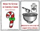 How to Grow a Candy Cane Christmas Packet With Emergent Reader