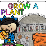 How to Grow a Plant {Flipbook & Sequencing Cards}