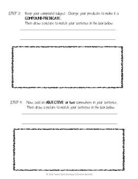 "Sentence Writing Basics:  ""How to Grow a Sentence"""