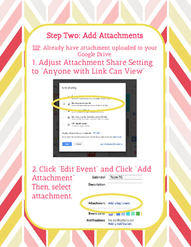How-to-Guide: Add Events with Attachments to Embedded Google Calendar