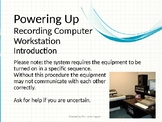 How to Guide - Powering Up Music Recording Computer Workstation