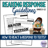 How-to Guide to Reacting and Responding to Fiction and Non