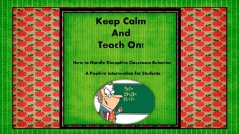 How to Handle Disruptive Classroom Behavior using Positive Intervention