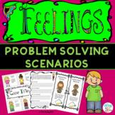 Feelings-Emotions Problem Solving Scenarios {Low Prep}