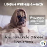 How to Handle Stress for Teens Presentation - Editable in