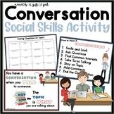 Conversation Social Skills Story | Conversation Skills for Autism