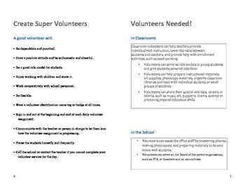 How to Have the Best School Volunteers Ever