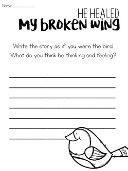 How to Heal a Broken Wing Close Reading Activities