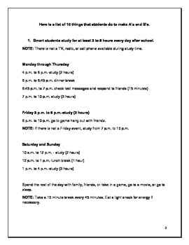 How to Help Your Child Make A's and B's 5 Minute Parent Handbook