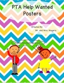 How to Help the PTA Posters