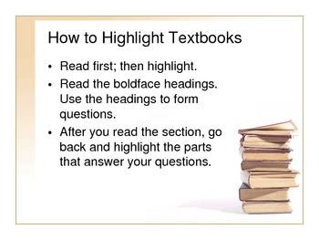 How to Highlight - PowerPoint