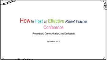 How to Hold an Effective Parent Teacher Conference