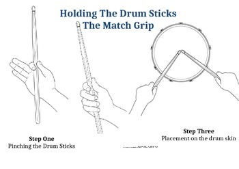 How to Hold the drum sticks