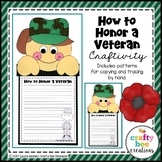 How to Honor a Veteran Craft