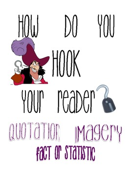 How to Hook your Reader