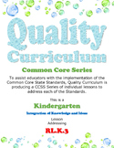 How to Identify Characters, Settings and Main Events - Kindergarten Lesson Plan