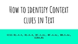 How to Identify Context Clues (PDF)