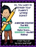 How to Improve Student's Writing Scores