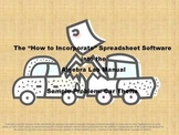 How to Incorporate Spreadsheet Software into the Algebra Lab Manual