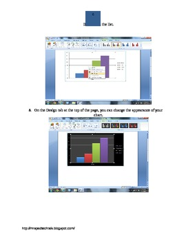 How to Insert a Chart: Microsoft Word