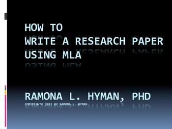 How to Integrate Quotes and Paraphrases into The MLA Paper