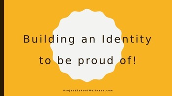 Intentional Identity Building (School Counselor, Character