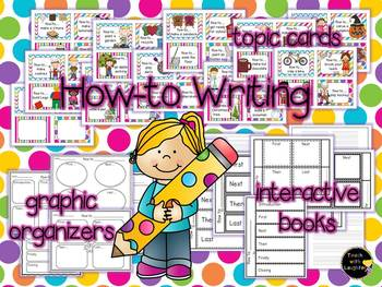 How-to Interactive Books and Writing Topics