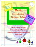 How to Introduce Number Talks