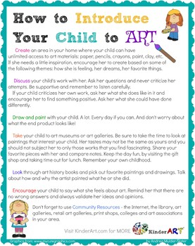 How to Introduce Your Child to Art