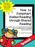 ¿Cómo empezar lectura guiada? Spanish Guided Reading Mini-