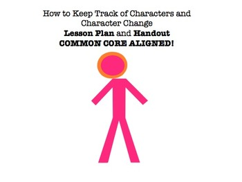 How to Keep Track of Characters & Character Change - Lesso