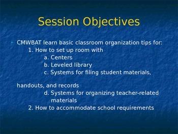 How to Keep an Organized, Well-Run Classroom??? I can HELP!
