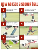 How to Kick a Soccer Ball
