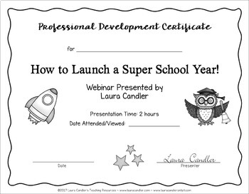 How to Launch a Super School Year Webinar