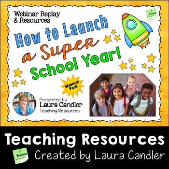 How to Launch a Super School Year PD Webinar