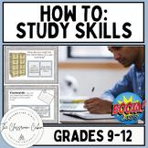 How to Learn & Study: AKA Study Skills ~ Boom Cards ~ Grad