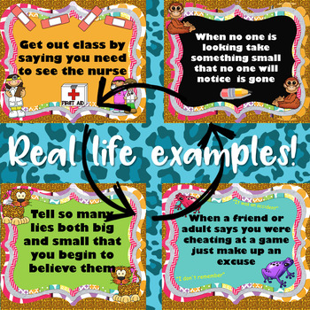 How to Lie, Steal, and Cheetah: SMARTboard lesson on Honesty and Integrity