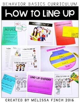 How to Line Up- Behavior Basics Program for Special Education