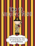 How to Line Up for a Fire Drill Informational {Differentiated} Writing
