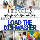 How to Load the Dishwasher Life Skill Anytime Activity | Life Skills Activities